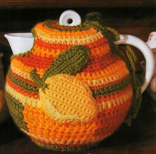 Грелка на чайник своими руками связанная с
