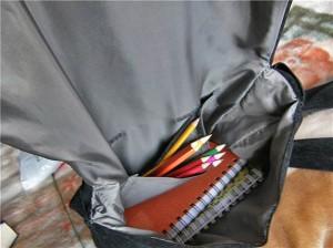 Вот моя сумка.  Вчера закончила.