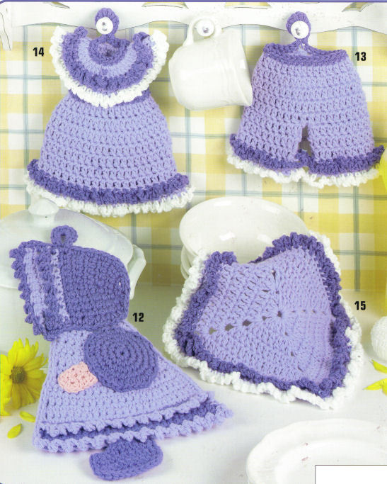 Cotton Crochet Patterns : Crochet Cotton Dishcloth Patterns - Crochet Patterns Books