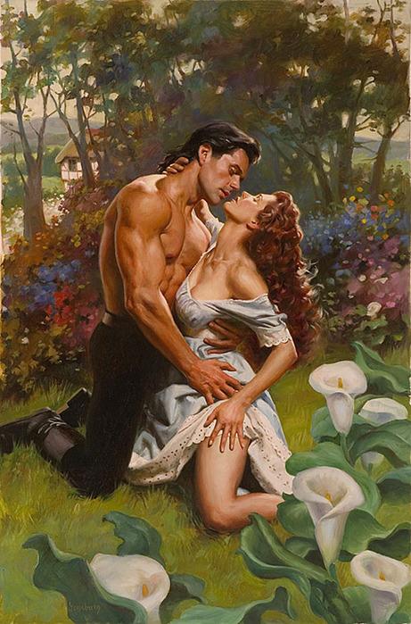 Страсть и нежность Романтика в картинках.