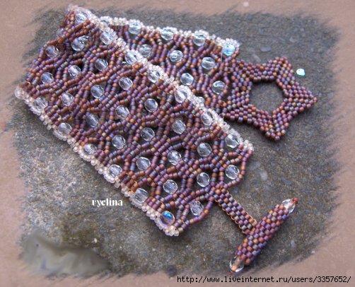 ...плетения браслетов. плетение на чии схемы плетения роз из бисера.