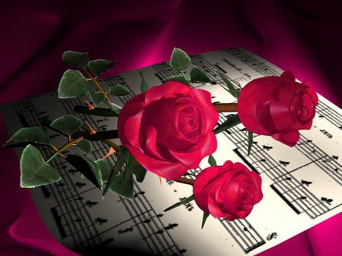 Я напишу мелодию разлук, И за сто вёрст она к тебе домчится, Почувствуешь в миноре тяжесть мук - На крылышках любви...