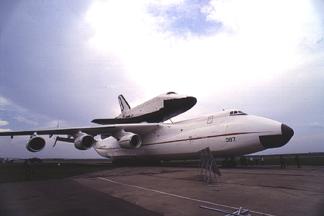 Фото 7684 Ан-225 - тяжелый военно-транспортный самолет.