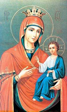 Иверская икона.  25 февраля - день памяти иконы Божьей Матери Иверской.