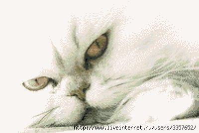 """Черные коты.  Монохром.  Вышивка крестом, схемы.  Вышивка  """"Шикарная кошара """".  Часть 11."""