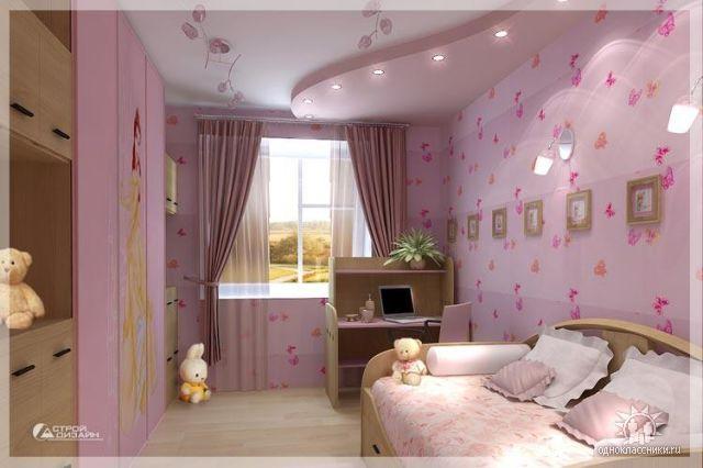 Детская комната в квартире фото