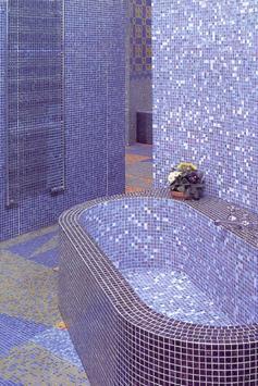 Ванная из мозаики своими руками