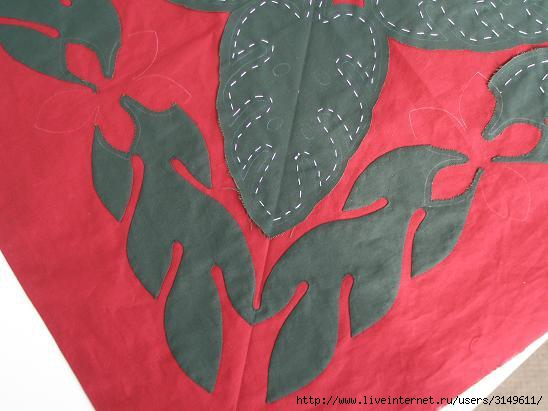 Схемы для Гавайского пэчворка, фото.  Несколько интересных схем для украшения подушек гавайским рисунком.