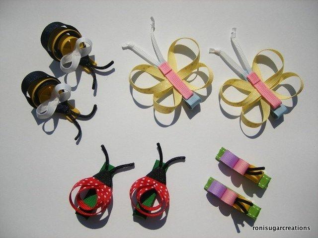 Бантики своими руками из репсовой ленты