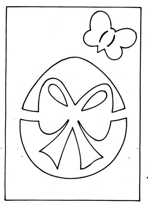 Несколько схем для пасхальных