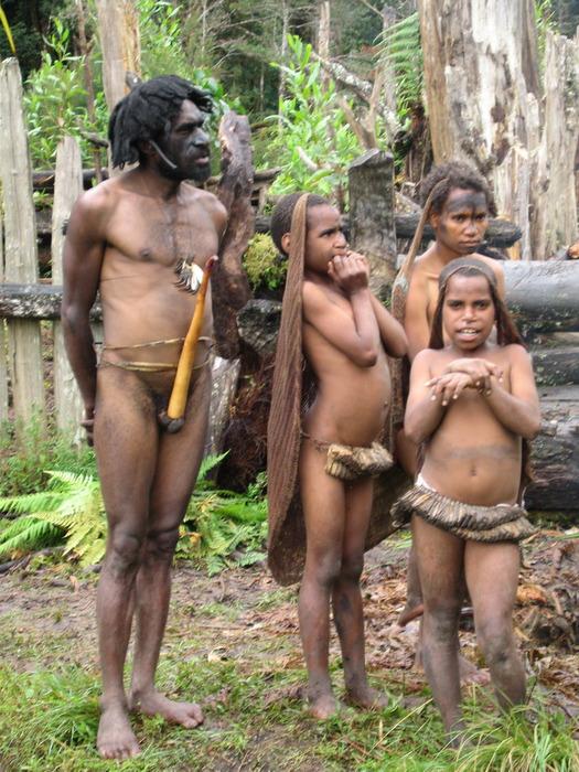 Порно фото папуасы