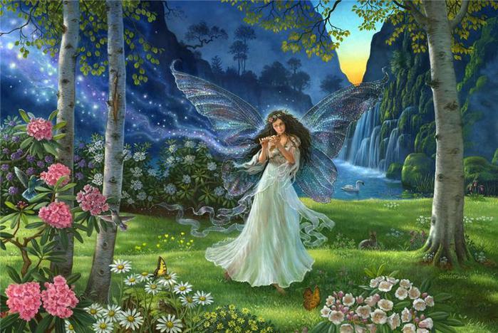 И/зумрудная песня весны З/овом тихим, волнующе-нежным У/дивить жаждет дух новизны.  М/агнетизмом таимной надежды.