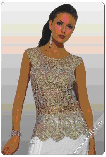 Вязаные модели для женщин спицами