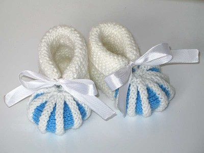 схема вязания пинеток кроссовок.