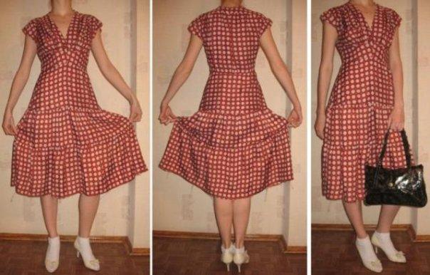 Сшить платье 70 годов - X-diagnostic