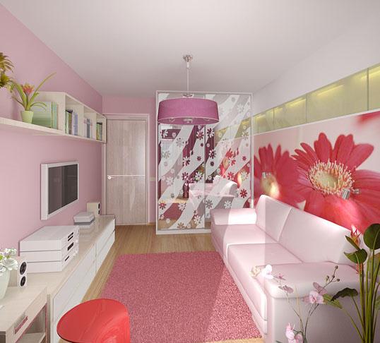 Комната молодой девушки фото