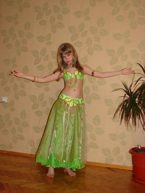 Костюм для танца живота для девочки своими руками