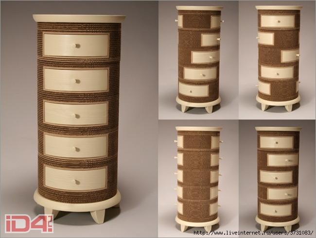 Мебель из картона своими руками мк