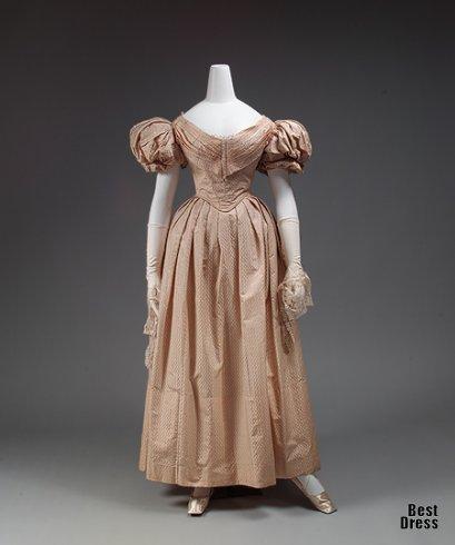 Платье эпохи романтизма (30-е гг. XIX века)