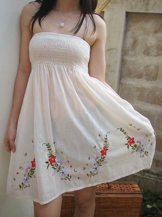 Платье с стразами своими руками