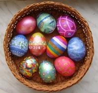 Как сделать яйцо из гипса.