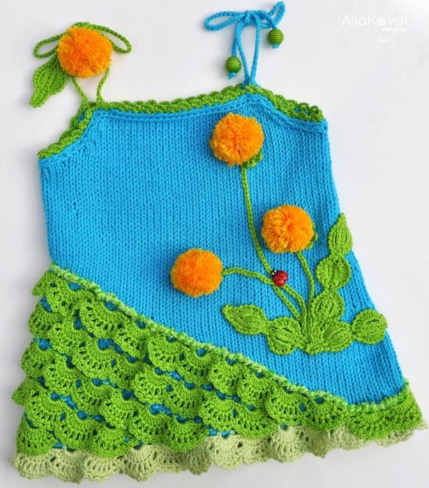 Вязание для малышей от 0 до 3 лет.  Схемы.