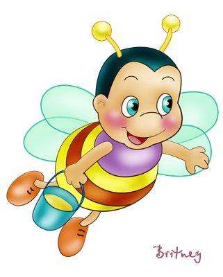 картинки мультяшных пчёлок