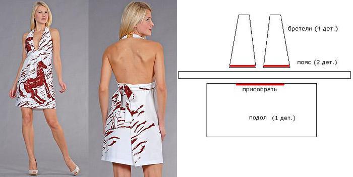 Скачать выкройки летних платьев. схемы и описание вязанной одежды для детей.