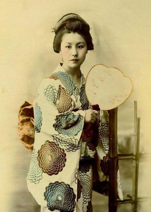 Что носили в древней японии