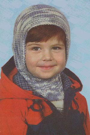 детям шапка-шлем Двухслойная