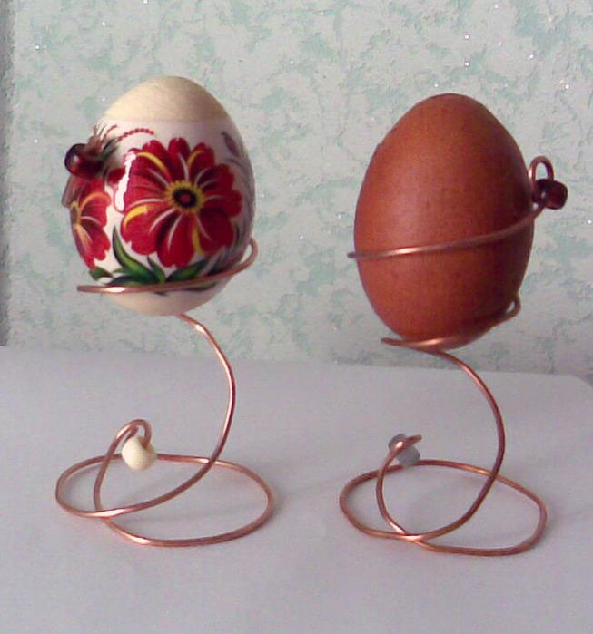 Как своими руками сделать пасхальное яйцо