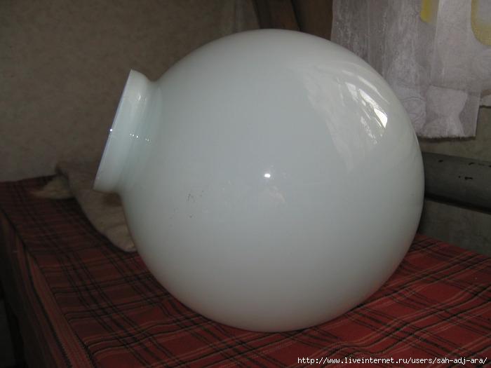 Как сделать вазу из плафона