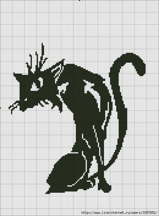 черно белые схемы для вышивания.