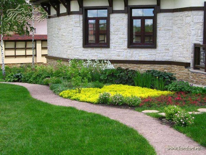 Ландшафтный дизайн сад и огород своими руками 78