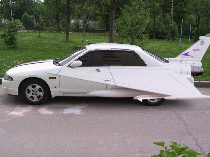 Крыло машины