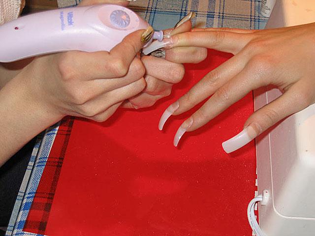 Маникюр педикюр наращивание ногтей оборудование