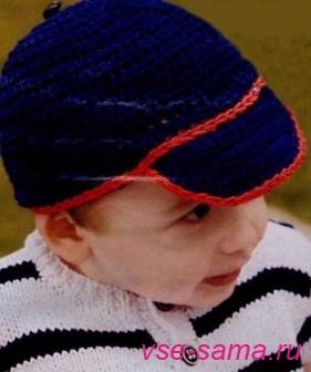 кепочка для мальчика.
