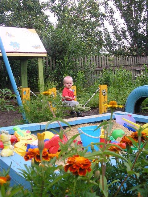 Детские площадки на вашей даче с просторов
