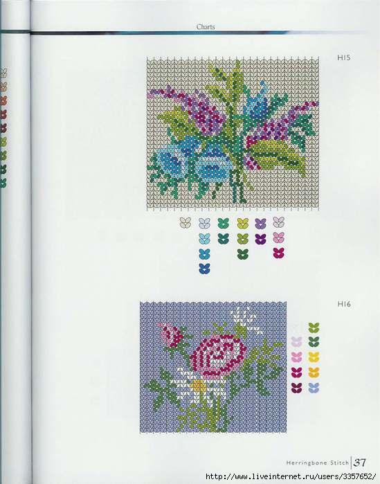 бисероплетение схемы цветы для