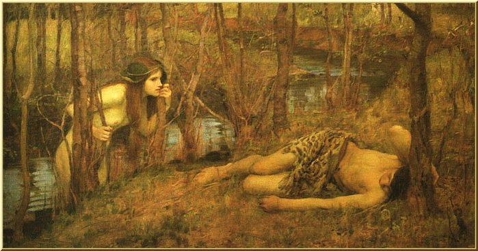 ...Нимфы, родившиеся из капель крови оскоплённого Урана.