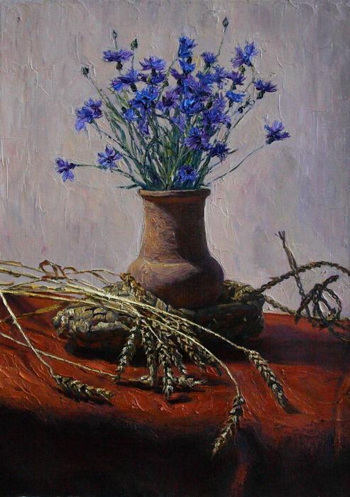 Картинки полевые цветы нарисованные 8