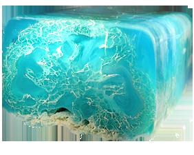 Мыло с люфой Морской коктейль (морской коктейль).  IMG.
