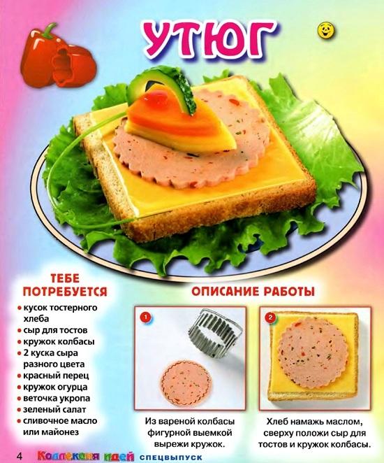Смешные бутерброды необычные рецепты