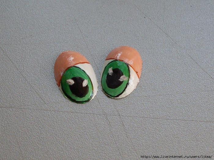 Как сделать глаза для поделок - Meri30.ru