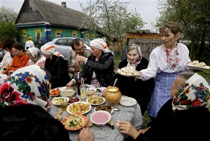 Сценарий праздника забытой деревни
