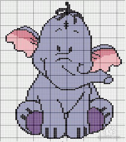 Вязание спицами рисунок слоник.  Фотка из рубрик: Нужна выкройка для детского костюма восточных танцев.