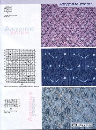 Ажурные узоры спицами схемы Все о. Диагональный пуловер. ажурные узоры спицами схемы для вязания кофточек.