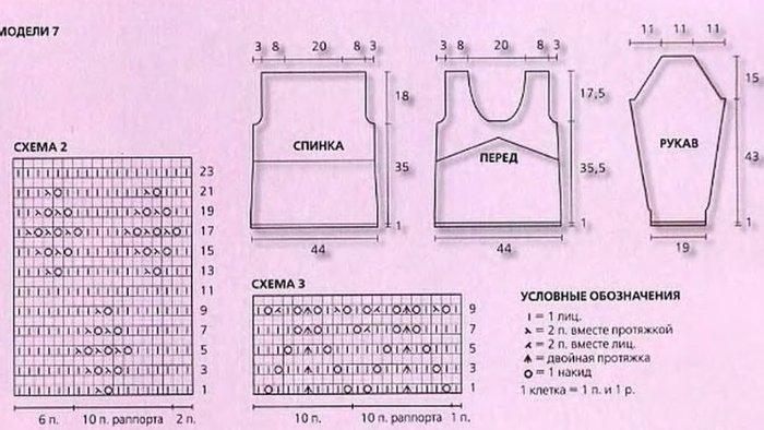Пуловер С Ажурной Кокеткой Доставка