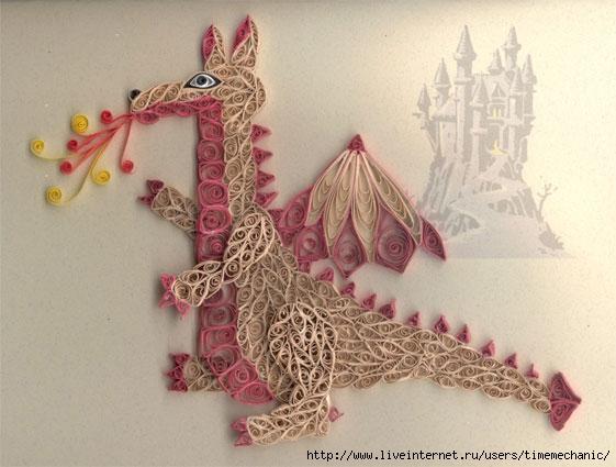 Поделки оригами на новый гОбезьяна Объемное панно