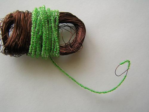 Схема плетения кактуса из бисера